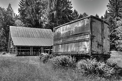 Photograph - The Old Homestead Truck 3 by Richard J Cassato