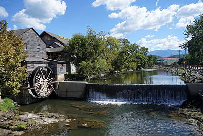 Photograph - The Old Mill by Laurie Perry