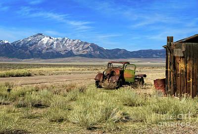 Old Trucks Photograph - The Old One by Robert Bales