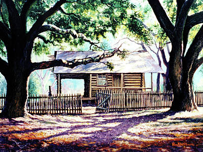 Painting - The Old Richardson Place by Randy Welborn