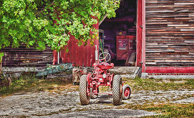 Photograph - The Old Ride by Tricia Marchlik