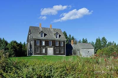 Andrew Wyeth Photograph - The Olsen House by John Greim