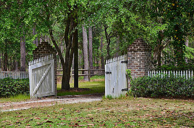 Photograph - The Open Gate by Linda Brown