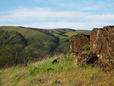 Photograph - Basalt With A View by Jacqueline  DiAnne Wasson