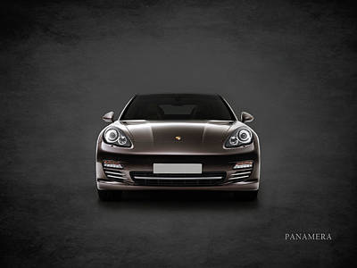 Supercar Photograph - The Panamera by Mark Rogan