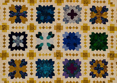 The Patchwork Of The Crosses Art Print