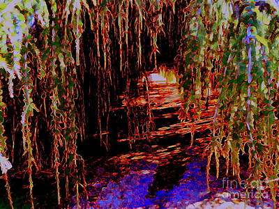 Digital Art - The Path To Enlightenment by Ed Weidman