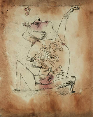Drawing - The Pathos Of Fertility by Paul Klee