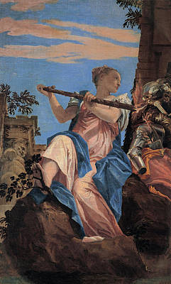 Moral Painting - The Peace by Paolo Veronese