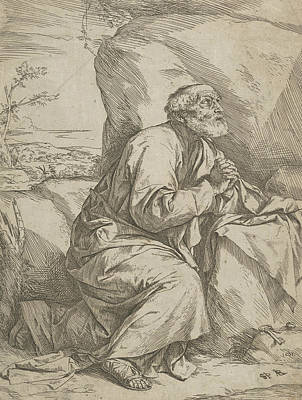 Relief - The Penitence Of Saint Peter by Treasury Classics Art