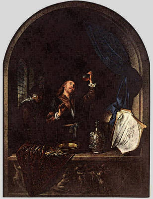 Digital Art - The Physician  by Gerrit Dou