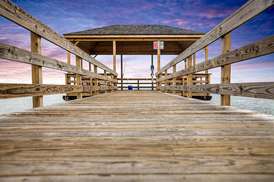 Photograph - The Pier by Al Hurley