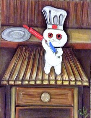 The Pillsbury Doughnut Art Print by Regina Jeffers