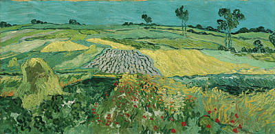 Painting - The Plain Of Auvers by Vincent van Gogh