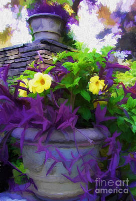 The Planter Art Print by Mike Nellums