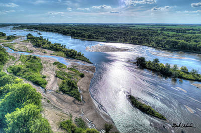 Photograph - The Platte River by Mark Dahmke