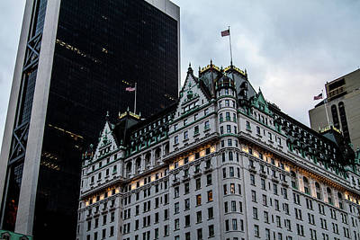 Photograph - The Plaza Hotel by Robert J Caputo