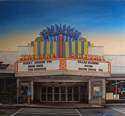 The Plaza Art Print by Rick McClung