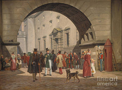 Prison Painting - The Prison Of Copenhagen by Celestial Images
