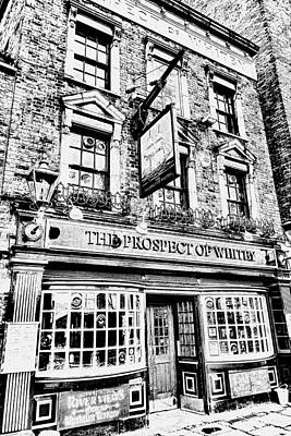 The Prospect Of Whitby Pub London Art Art Print by David Pyatt