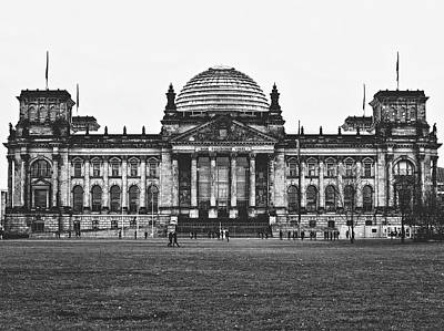 Photograph - The Reichstag - Berlin by Pixabay