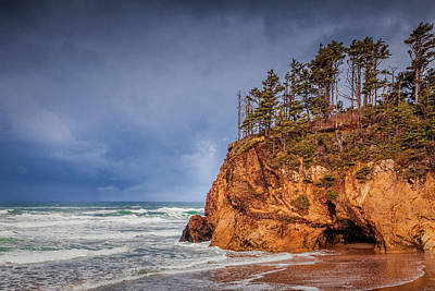 Photograph - The Remote Coast by Andrew Soundarajan
