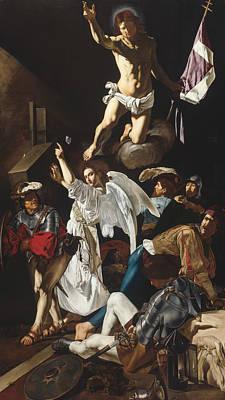 Caravaggio Painting - The Resurrection by Cecco del Caravaggio