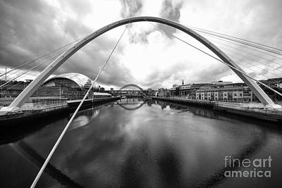 The River Tyne Art Print