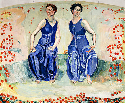 Painting - The Sacred Hour by Ferdinand Hodler