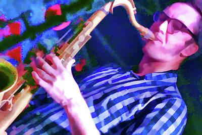 The Sax Player Original