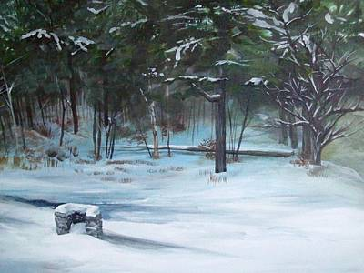 Painting - The Season Has Changed by Chris Wing
