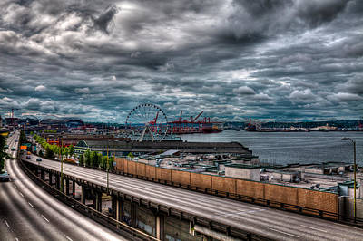 Photograph - The Seattle Skyline by David Patterson