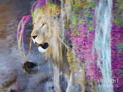 Painting - The Shower by Judy Kay