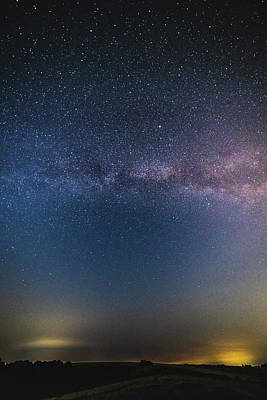 Photograph - The Sky At Night - More Detail by Framing Places
