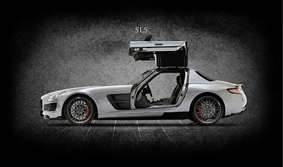 Formula Car Photograph - The Sls by Mark Rogan