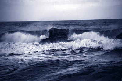 Braking Photograph - The Song Of The Ocean by Susanne Van Hulst