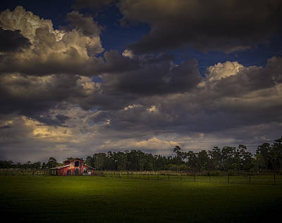 Farm Building Photograph - The South Forty by Marvin Spates