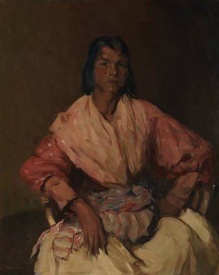 Painting - The Spanish Gypsy by Robert Henri