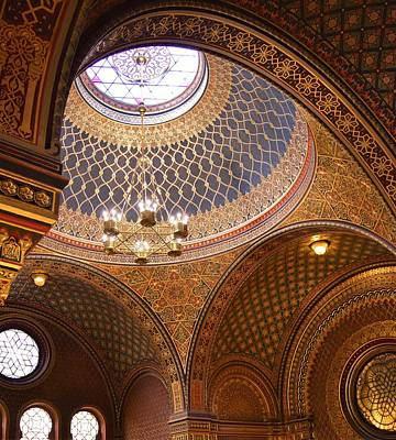 Spanish Synagogue Photograph - The Spanish Synagogue by Beverly Kay