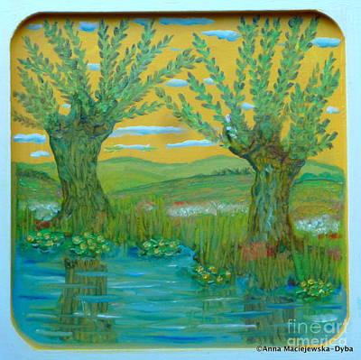 Painting - The Spring by Anna Folkartanna Maciejewska-Dyba
