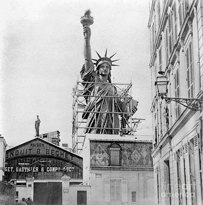 Photograph - The Statue Of Liberty by Granger
