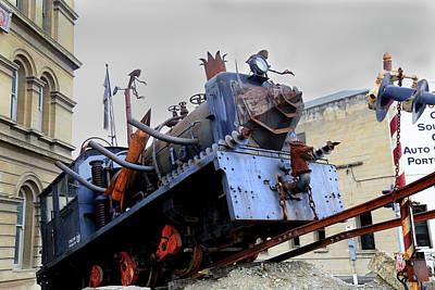 Photograph - The Steam Punk Hq Engine by Nareeta Martin