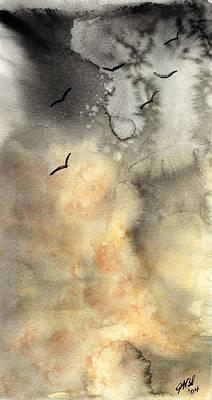 The Storm Art Print by Joyce Ann Burton-Sousa
