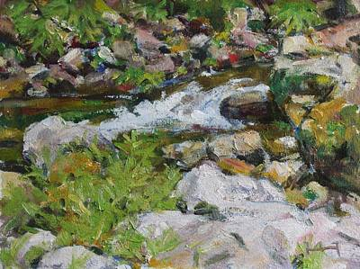 Painting - The Stream by Owen Hunt