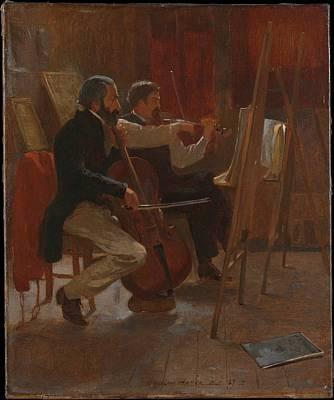 The Studio Original by Winslow Homer