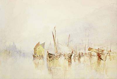 Joseph Painting - The Sun Of Venice by JMW Turner