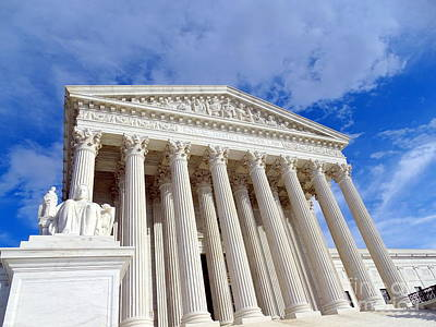 Photograph - The Supreme Court by Ed Weidman