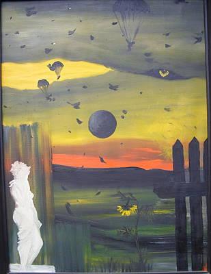 The Survivor Art Print by Zsuzsa Sedah Mathe