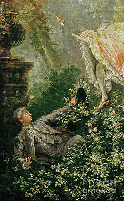Painting - The Swing  by Jean-Honore Fragonard