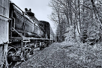 The Tanker Car Art Print by David Patterson